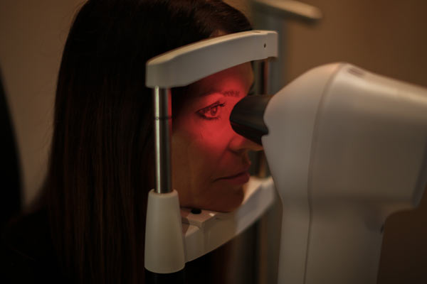 assessment for orthokeratology at Eyeconic Optometry Southport