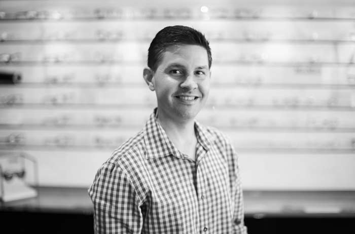 Optometrist Ben Chant of Eyeconic Optometry Southport